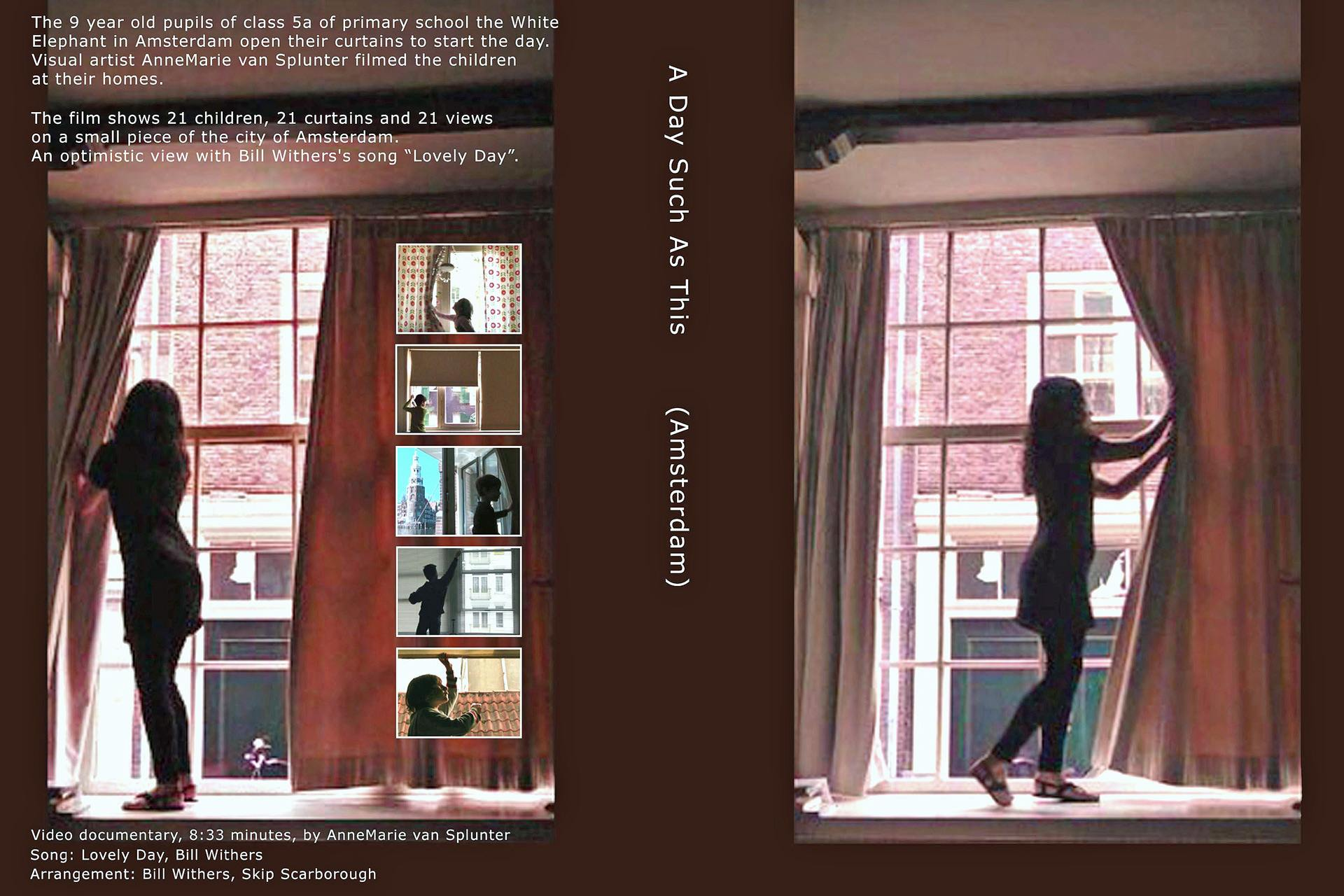 "DVD ""A Day Such As This"" (Amsterdam version) produced by Gallery VousEtesIcI, 2012"