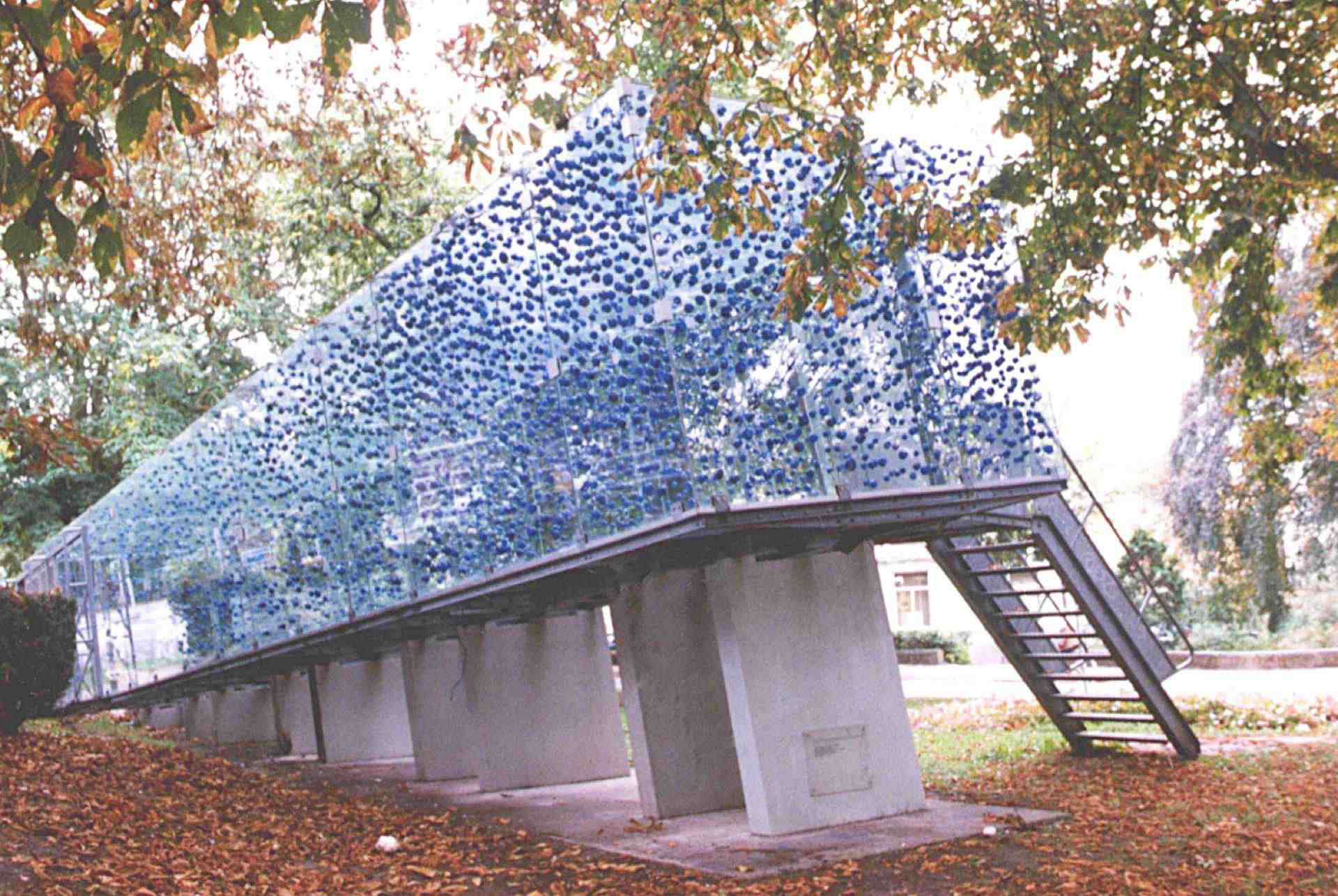 PUFF, Exhibition Tschumi pavilion, Groningen, 1997
