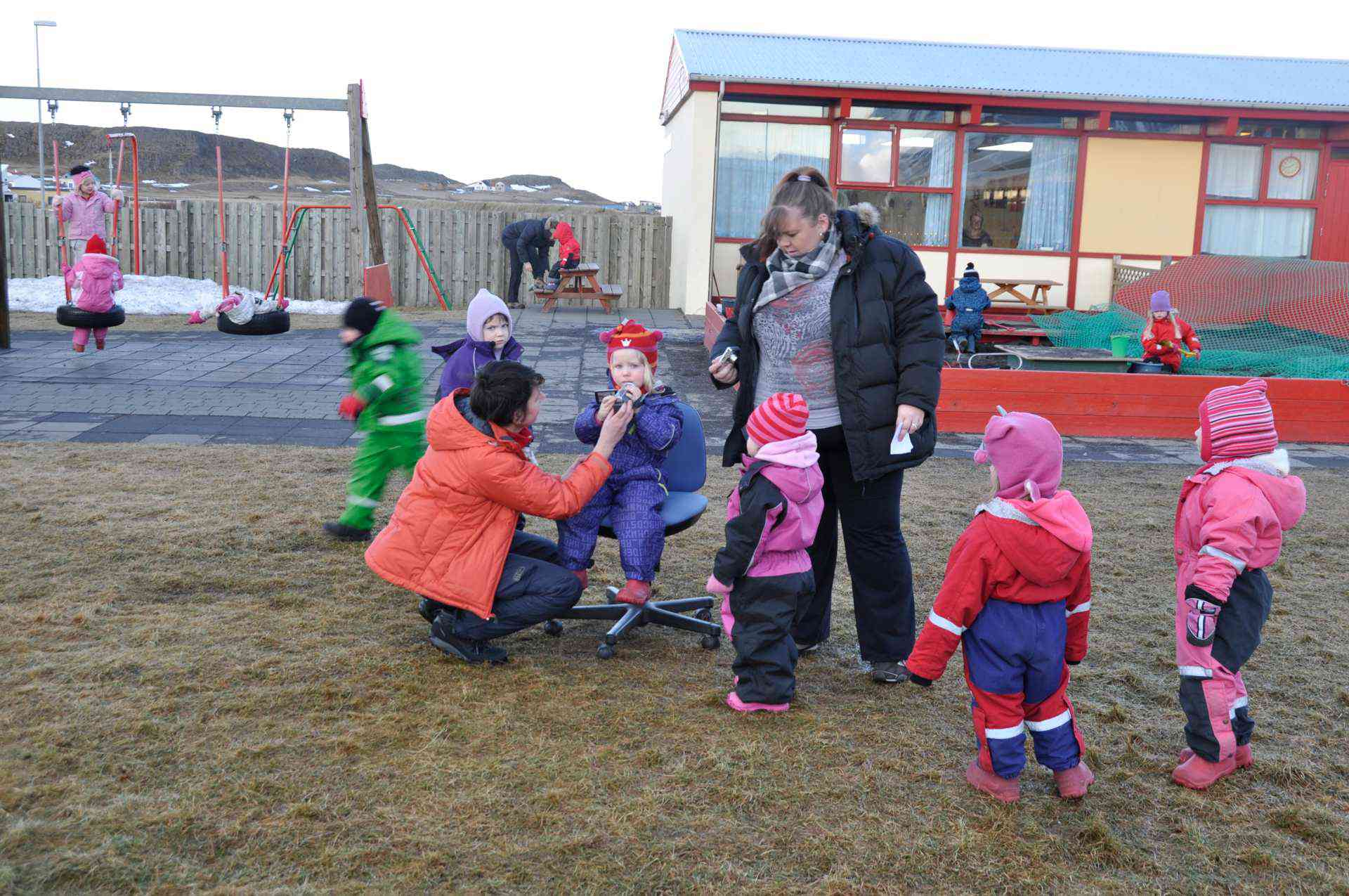 Iceland, a video for the 35th anniversary of preschool Barnabol